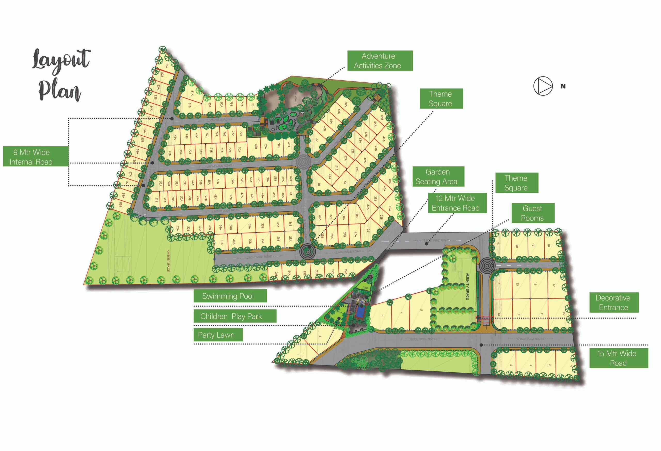 Mistywinds - Residential NA plot