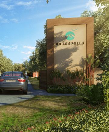 Hills n Mills entry gate